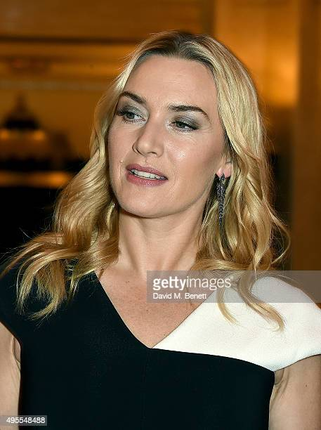Kate Winslet attends the Harper's Bazaar Women of the Year Awards 2015 at Claridges Hotel on November 3 2015 in London England