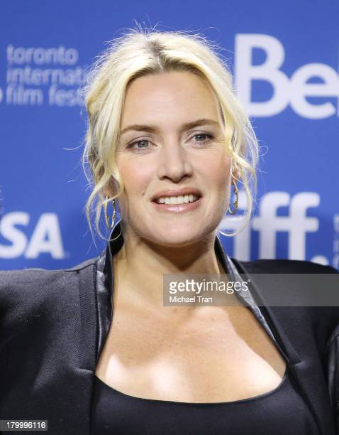 Kate Winslet attends the Labor Day press conference during the 2013 Toronto International Film Festival held at TIFF Bell Lightbox on September 7...