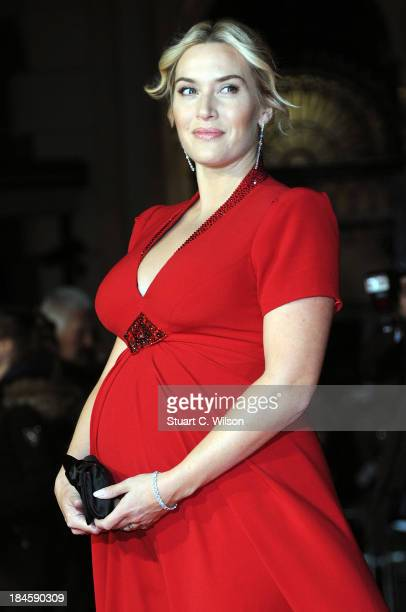 Kate Winslet attends the Mayfair Gala European Premiere of 'Labor Day' during the 57th BFI London Film Festival at Odeon Leicester Square on October...