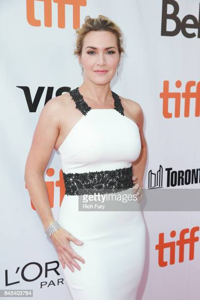 Kate Winslet attends The Mountain Between Us premiere during the 2017 Toronto International Film Festival at Roy Thomson Hall on September 10 2017 in...