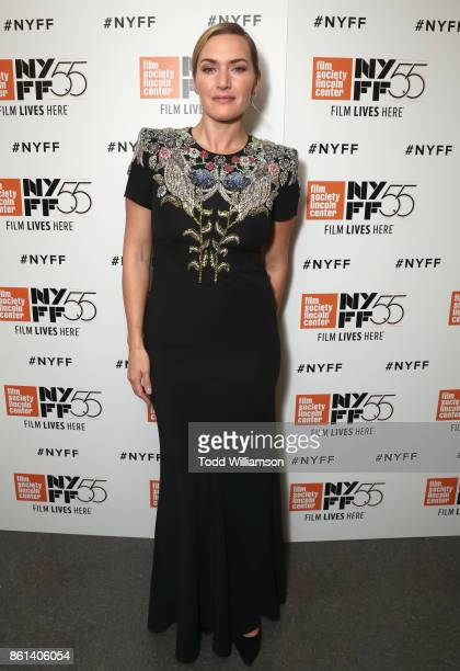 Kate Winslet attends the NYFF premiere of Wonder Wheel at Alice Tully Hall on October 14 2017 in New York City