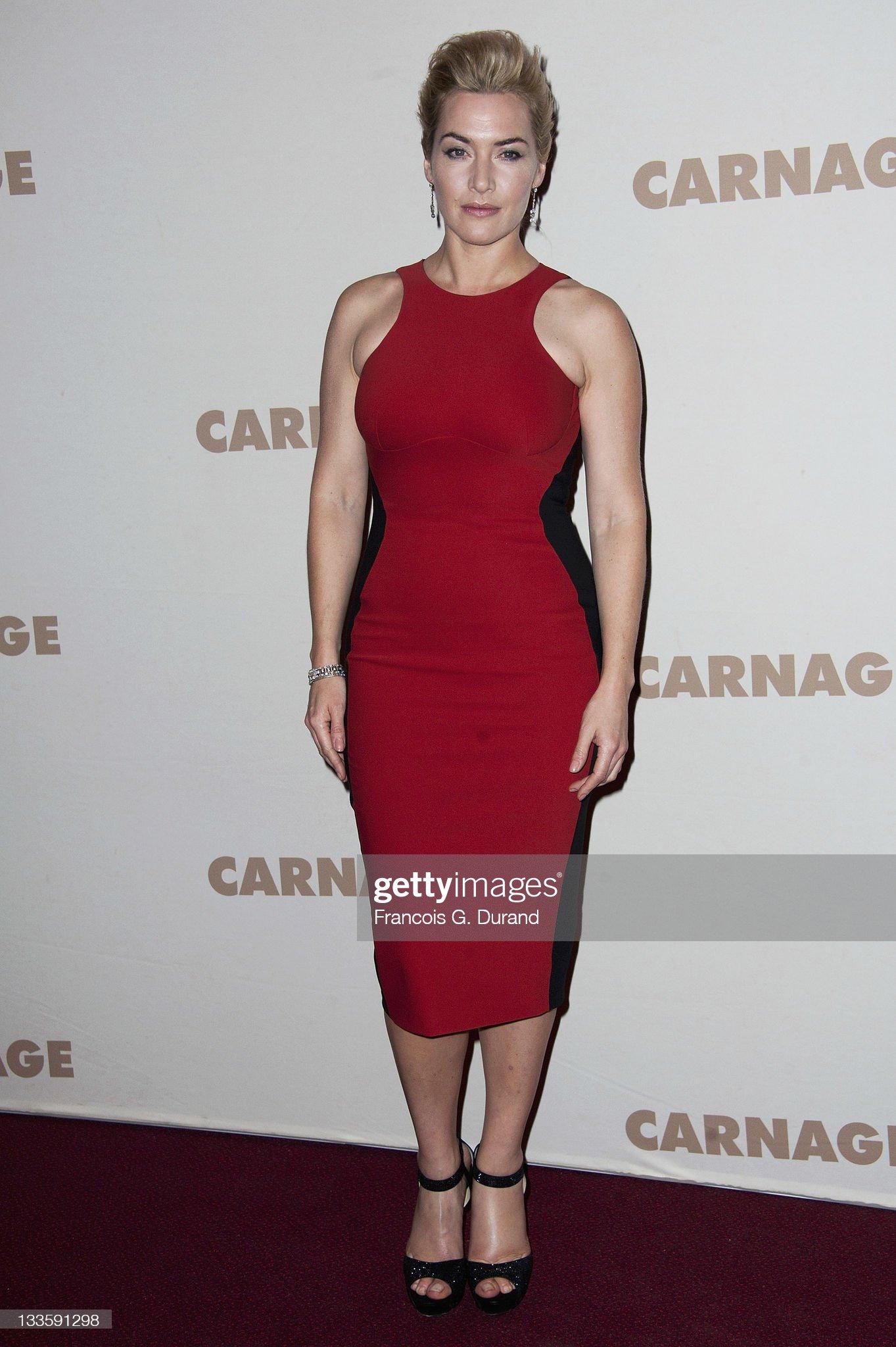'Carnage' - Paris Premiere : News Photo