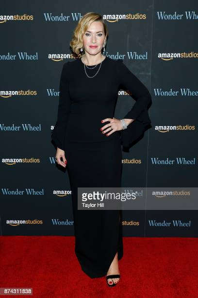Kate Winslet attends the premiere of 'Wonder Wheel' at Museum of Modern Art on November 14 2017 in New York City