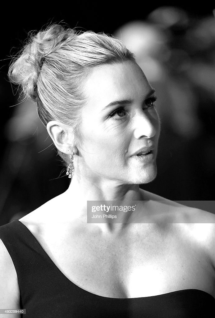 Kate Winslet attends the 'Steve Jobs' Closing Night Gala during the BFI London Film Festival, at Odeon Leicester Square on October 18, 2015 in London, England.