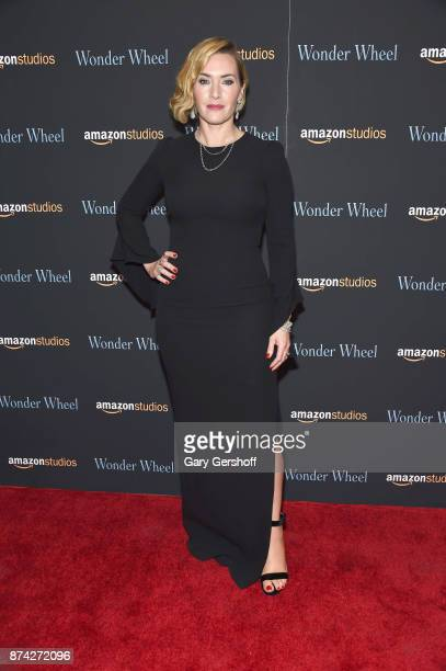 Kate Winslet attends the 'Wonder Wheel' New York screening at the Museum of Modern Art on November 14 2017 in New York City
