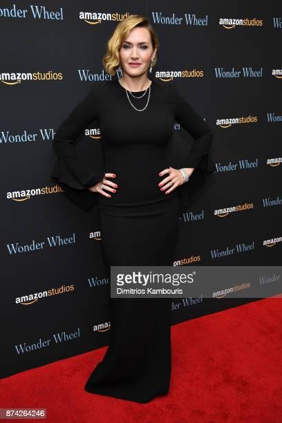 Kate Winslet attends the 'Wonder Wheel' screening at Museum of Modern Art on November 14 2017 in New York City
