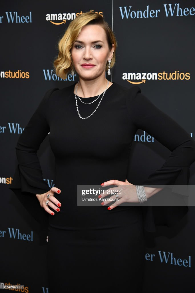 Kate Winslet attends the 'Wonder Wheel' screening at Museum of Modern Art on November 14, 2017 in New York City.