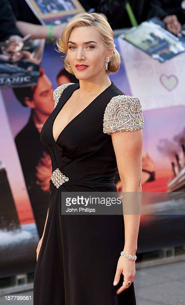 Kate Winslet Attends The World Premiere Of The 'Titanic 3D' At The Royal Albert Hall London