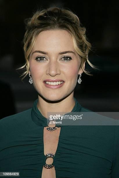 Kate Winslet during 2004 Santa Barbara International Film Festival Finding Neverland Premiere at The Lobero Theatre in Santa Barbara California...