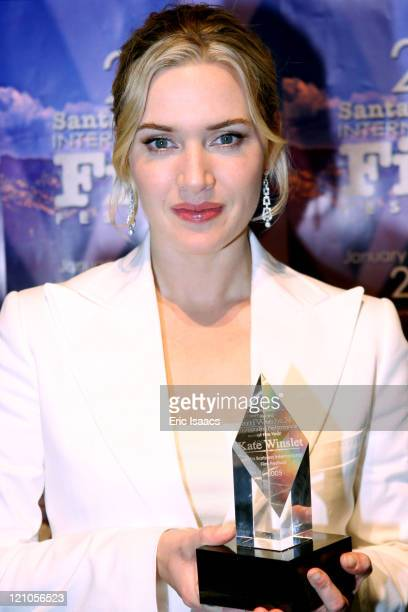 Kate Winslet during 20th Annual Santa Barbara International Film Festival Sapphire Inspired Award Honors Kate Winslet at The Lobero Theatre in Santa...