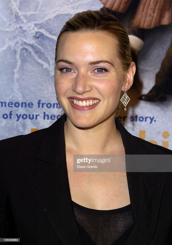 Kate Winslet during 'Eternal Sunshine Of The Spotless Mind' - Los Angeles Premiere at Academy Theatre in Beverly Hills, California, United States.