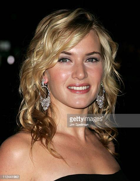 Kate Winslet during Finding Neverland New York Premiere Outside Arrivals at The Brooklyn Museum in New York City New York United States