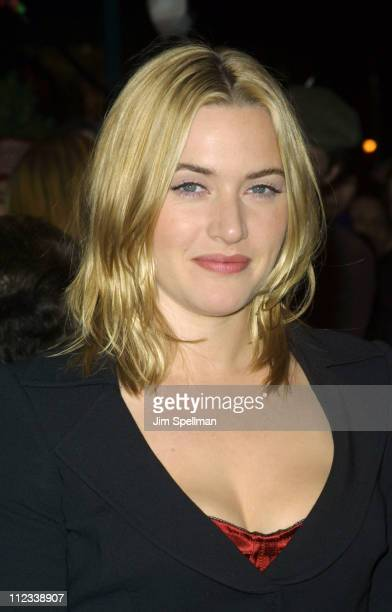 Kate Winslet during Iris Premiere at Paris Theatre in New York City New York United States