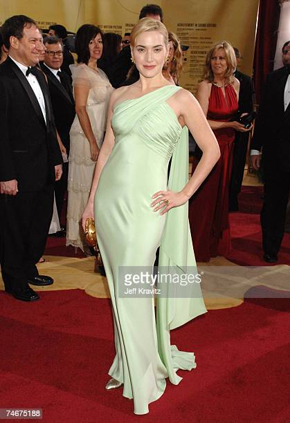 Kate Winslet nominee Best Actress in a Leading Role for Little Children at the The 79th Annual Academy Awards Arrivals at Kodak Theatre in Hollywood...
