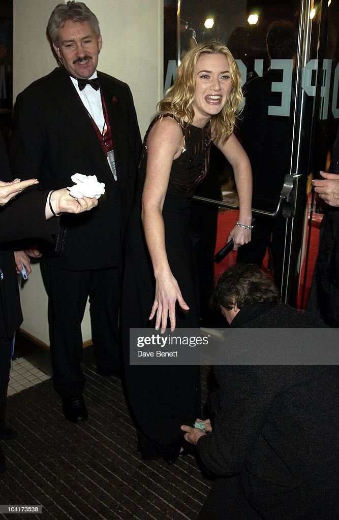 Kate Winslet, The Orange British Academy Film Awards (bafta) 2002, At The Odeon, Leicester Square, London