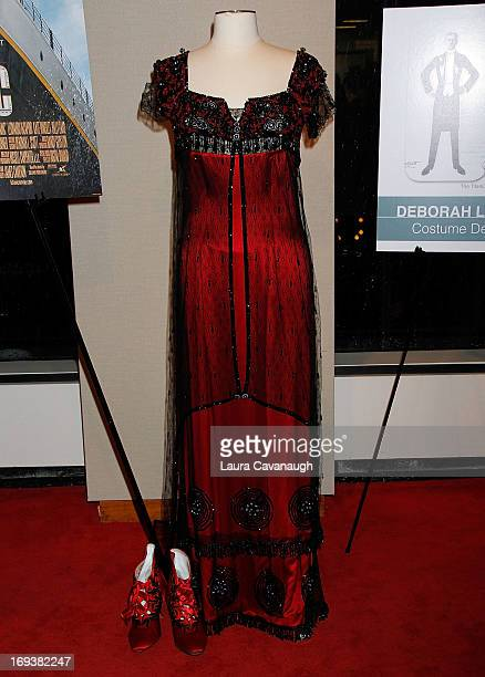 Kate Winslet's costume from the movie 'Titanic' at the 2013 NYWIFT Designing Women Awards at The McGrawHill Building on May 23 2013 in New York City