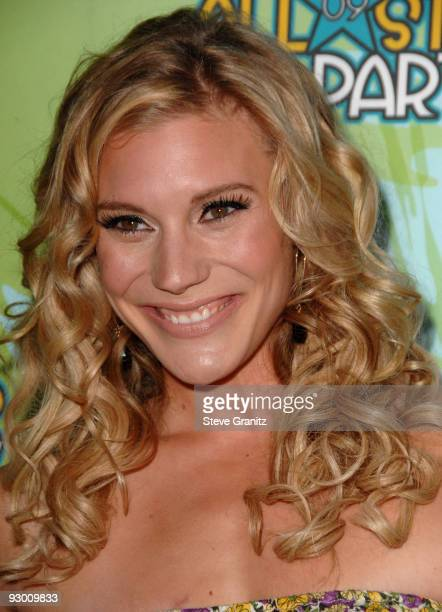 Katee Sackhoff arrives at the 2009 TCA Summer Tour's Fox AllStar Party at The Langham Resort on August 6 2009 in Pasadena California