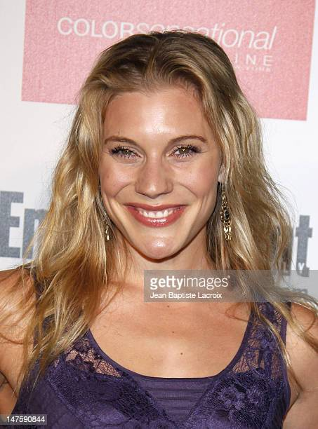 Katee Sackhoff arrives at the Entertainment Weekly and Women In Film's PreEmmy Party at the Restaurant at The Sunset Marquis Hotel on September 17...
