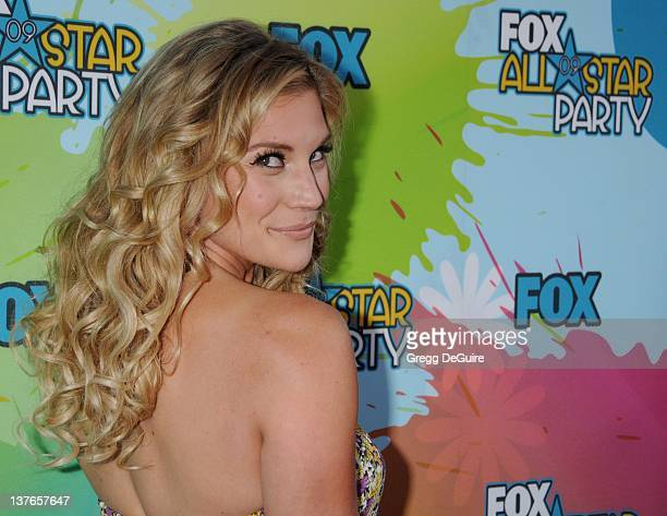 Katee Sackhoff arrives for the FOX TCA AllStar Party at The Langham Huntington Hotel Spa in Pasadena California on August 6 2009