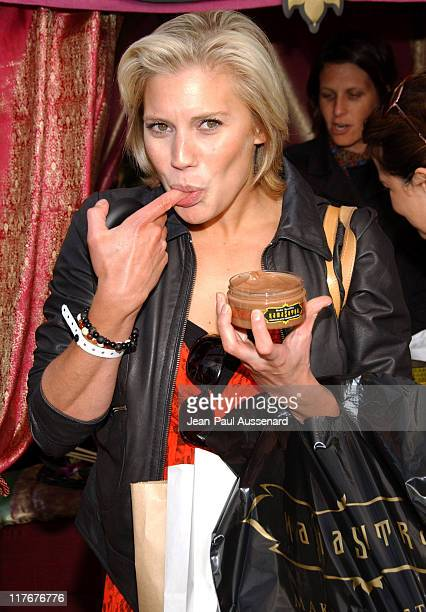 Katee Sackhoff at Kama Sutra during 2007 Silver Spoon Golden Globes Suite Day 1 at Private Residence in Los Angeles California United States Photo by...