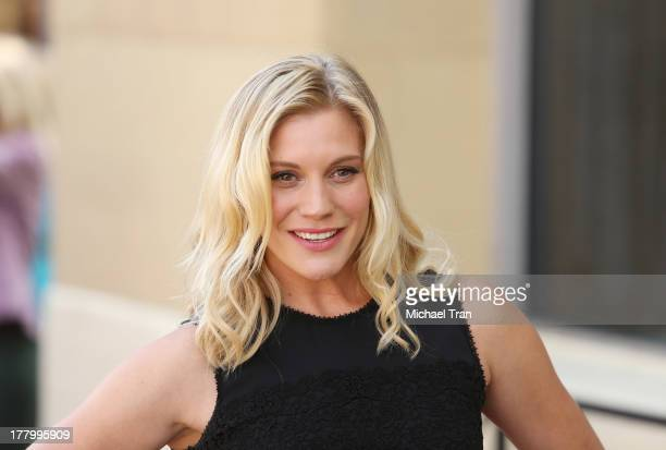 Katee Sackhoff attends the ceremony honoring Vin Diesel with a Star on The Hollywood Walk of Fame held on August 26 2013 in Hollywood California