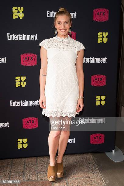 Katee Sackhoff attends the closing night reunion panel of Battlestar Galactica and afterparty presented by Entertainment Weekly and SYFY during the...