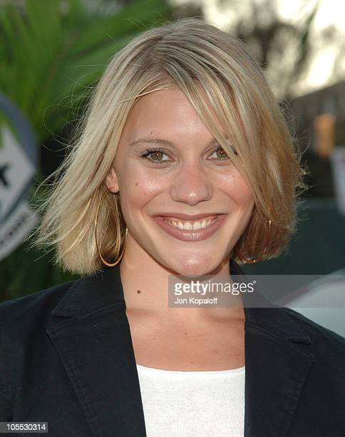 Katee Sackhoff during 2005 NBC Network All Star Celebration at Century Club in Century City, California, United States.