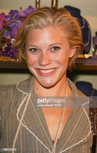 """Katee Sackhoff during 2006 Primetime Emmy's - """"Hearts On Fire"""" Diamond Indulgence Lounge - Day 2 at The Peninsula Hotel in Beverly Hills, California,..."""
