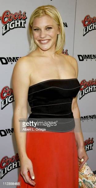 Katee Sackhoff during Halloween Resurrection Premiere at Mann's Festival Theater in Westwood California United States