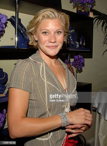 Katee Sackhoff during Hearts on Fire Diamond Indulgence Lounge Day 1 at Peninsula Hotel in Beverly Hills California United States