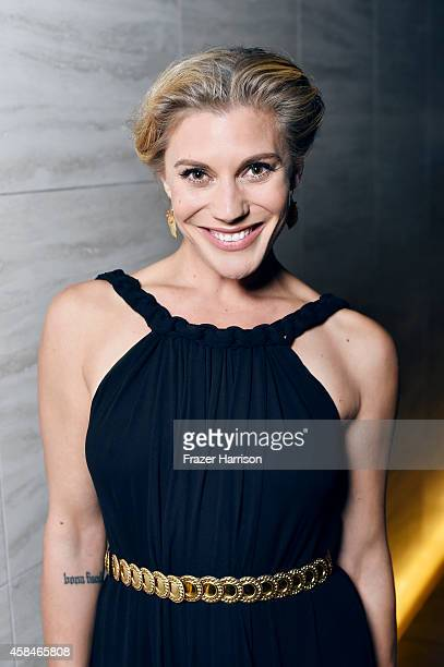 Katee Sackhoff poses for a portrait at the amfAR LA Inspiration Gala on October 29 2014 in Los Angeles California