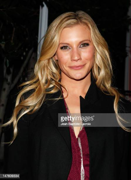 Katee Sackhoff sighting outside the HFPA InStyle Miss Golden Globe Party at Nobu in West Hollywood on December 8 2009 in Los Angeles California