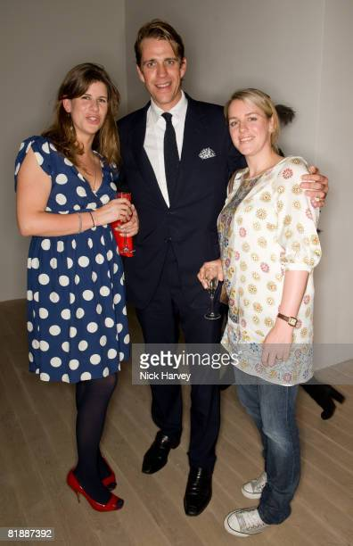 KateElliot Ben Elliot and Laura Parker Bowles attend The Quintessentially Summer Arts Party at Phillips de Pury Company on July 9 2008 in London...