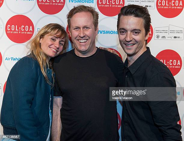 Katell Quillevere Roger Avary and Helier Cisterne attends the 18th Annual City Of Lights City Of Angels Film Festival at Directors Guild Of America...