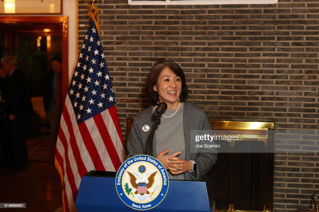 USA Embassy Seoul Reception for the 	PyeongChang 2018 Winter Olympic Games