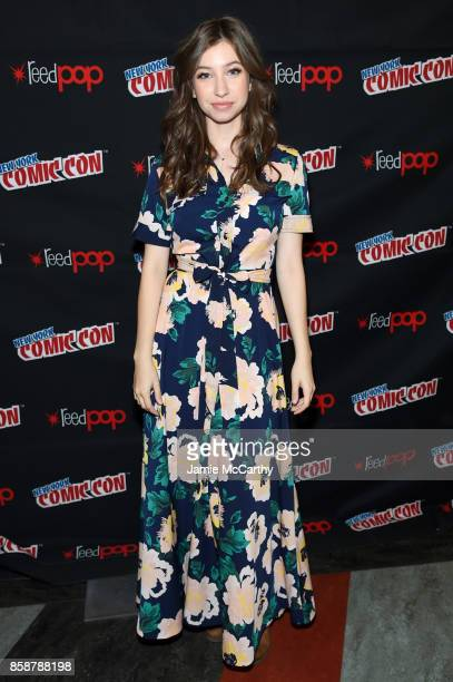 Katelyn Nacon attends the Comic Con The Walking Dead panel at The Theater at Madison Square Garden on October 7 2017 in New York City