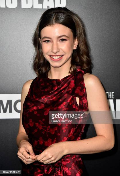 Katelyn Nacon attends the Premiere of AMC's The Walking Dead Season 9 at DGA Theater on September 27 2018 in Los Angeles California