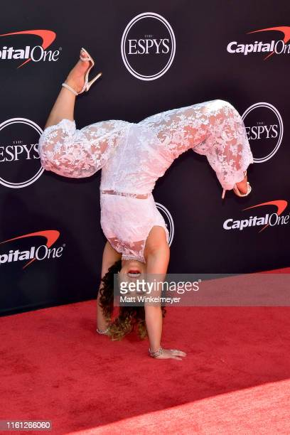 Katelyn Ohashi attends The 2019 ESPYs at Microsoft Theater on July 10, 2019 in Los Angeles, California.