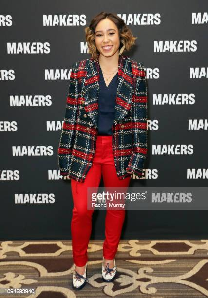 Katelyn Ohashi attends The 2019 MAKERS Conference at Monarch Beach Resort on February 6, 2019 in Dana Point, California.