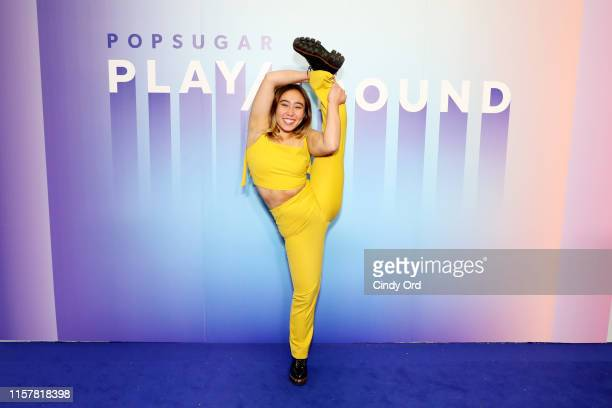 Katelyn Ohashi attends the POPSUGAR Play/Ground at Pier 94 on June 23, 2019 in New York City.