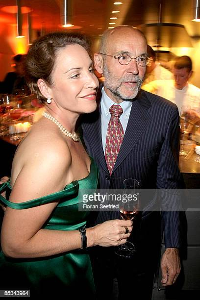 Katerina Jacob and husband Jochen Neumann attend the 'ITB Mandarin Oriental Dinner' at E4 on March 10, 2009 in Berlin, Germany.