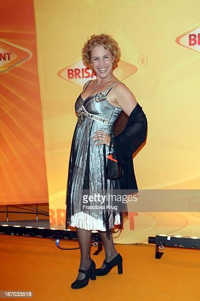Katerina Jacob Bei Der Verleihung Des Brisant Brillant In Den Bavaria Studios In München