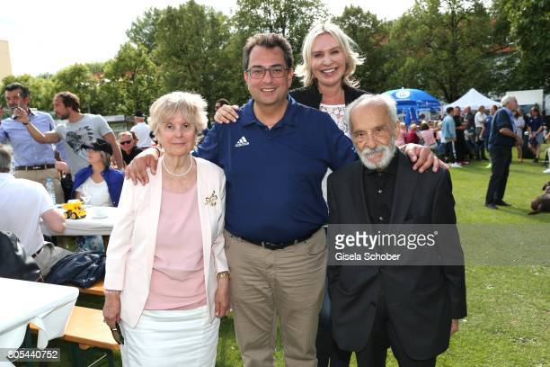 Katerina Kostantinidis mother Stavros Kostantinidis and his father Ploutavchos Kostantinidis and his wife Saskia GreiplKostantinidis during the Erich...