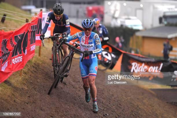 Katerina Nash of Czech Republic and Team Czech Republic / during the 70th Cyclo-cross World Championships Bogense 2019, Women Elite / Cross Denmark /...
