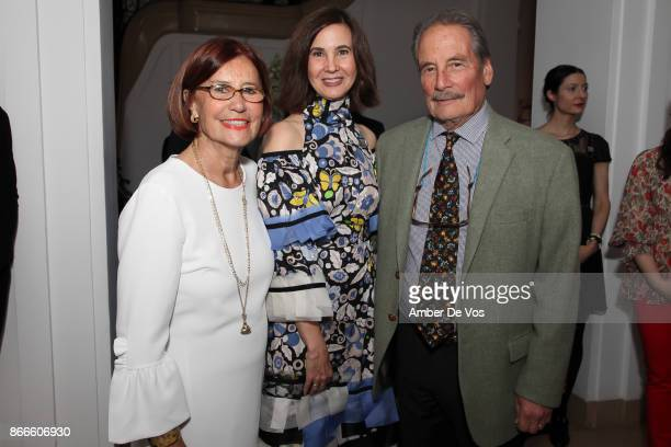 Katerina Perlow Phyllis LaRiccia and Dr William Perlow attend Wiener Werkstatte 19031932 The Luxury of Beauty opening reception at Neue Galerie on...