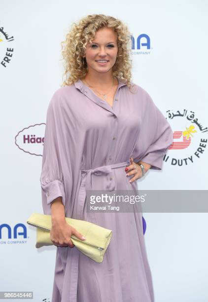 Katerina Siniakova attends the WTA's 'Tennis On The Thames' evening reception at Bernie Spain Gardens South Bank on June 28 2018 in London England