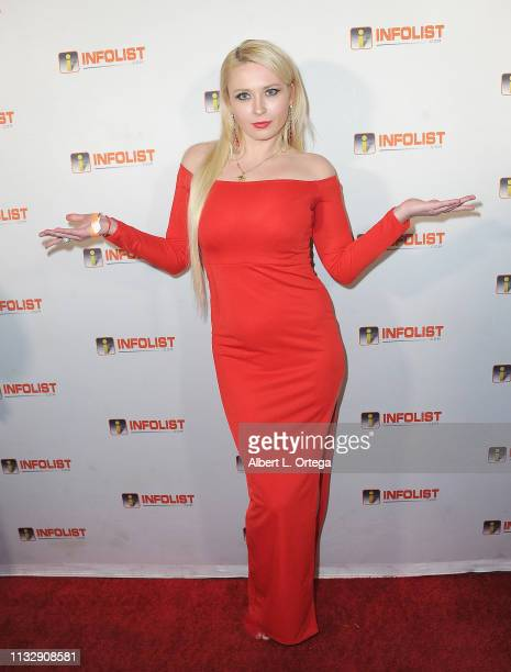 Kateryna Globa arrives for PreOscar Soiree Hosted By INFOListcom and Birthday Celebration for Founder Jeff Gund held at SkyBar at the Mondrian Los...