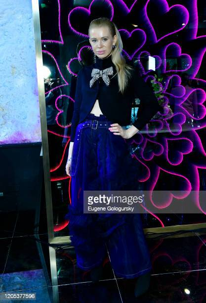 Kateryna Stolovska attends the Andrea Bocelli Foundation Lillian Gorbachincky Present First Annual Luncheon at AD Building on February 10 2020 in New...