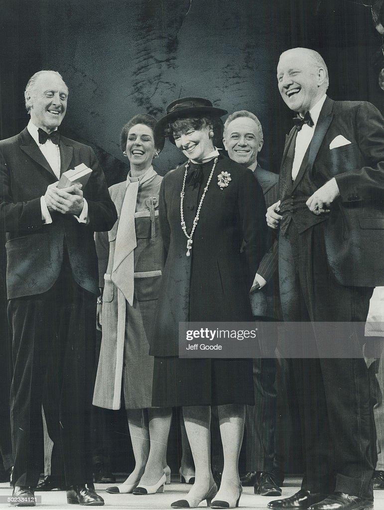Kate's last week a record $171;674. The musical Coco; starring Katharine Hepburn; broke O' Keefe Cen : News Photo