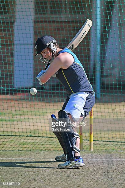 Katey Martin of New Zealand during the New Zealand womens training session at the Diamond Oval on October 07 2016 in Kimberley South Africa